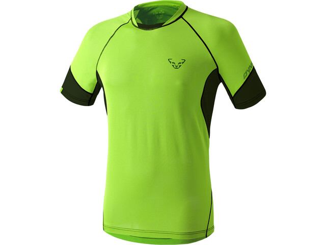 Dynafit Vertical S/S Tee Men fluo yellow